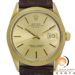 ROLEX【ロレックス】 1550 7567 腕時計 SS/革 メンズ