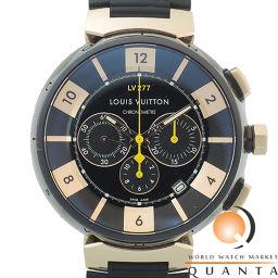 LOUIS VUITTON【ルイ・ヴィトン】 Q114f 7963 腕時計 /ステンレススチール(SS)・ピンクゴールド(PG)・純正ラバーベルトPVD メンズ