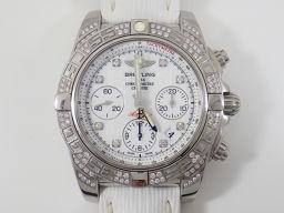 BREITLING【ブライトリング】 AB0140AF/A744 7616 腕時計 SS/ダイヤモンド メンズ
