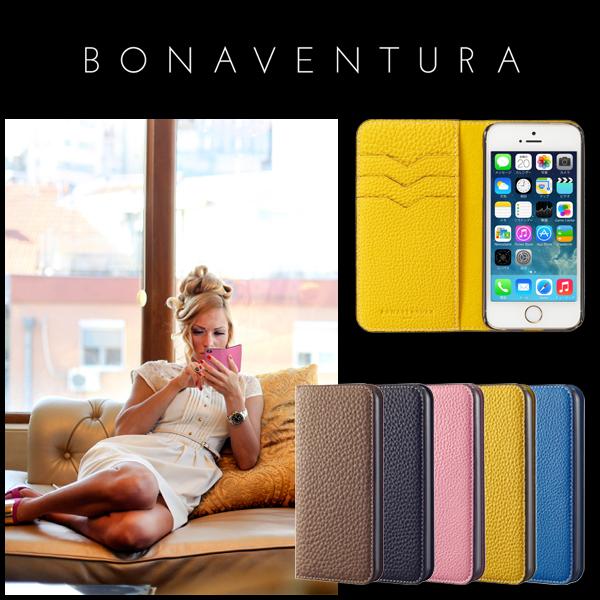 BONAVENTURA【ボナベンチュラ】 iPhone 7 ケース (4.7インチ) ドイツ製本革 牛革 レザー アイフォンケース German Leather 2 Tone Diary iPhone case 全4色  iPhoneケース