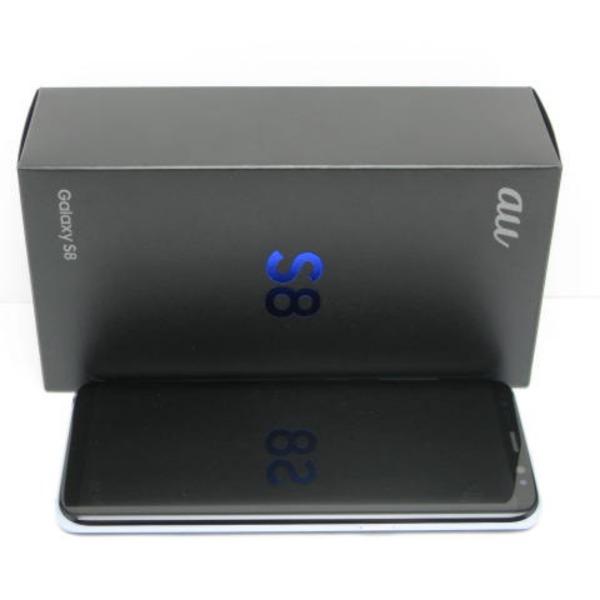 Galaxy S8 SCV36 au [コーラル ブルー]