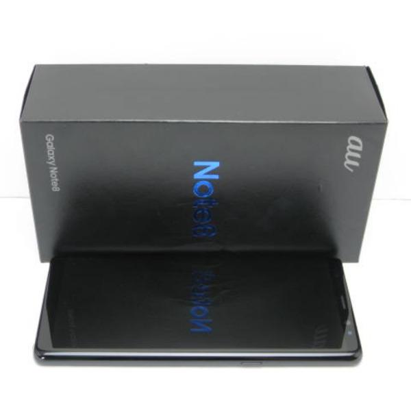 Galaxy Note8 SCV37 au [ミッドナイト ブラック]