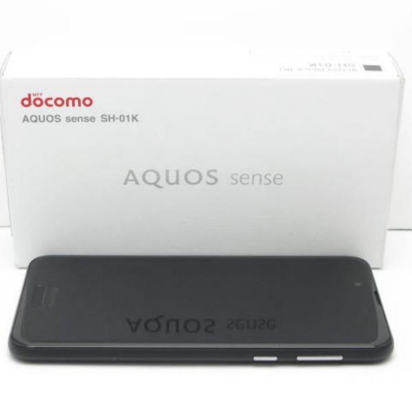AQUOS sense SH-01K docomo [Velvet Black]