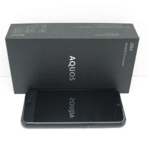 AQUOS R compact SHV41 au [メタルブラック]