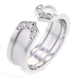 CARTIER【カルティエ】 リング・指輪 K18ホワイトゴールド/ダイヤモンド レディース
