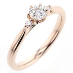 【】 リング・指輪 K18ピンクゴールド/ダイヤモンド レディース
