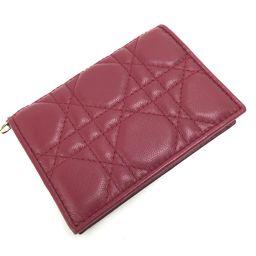 Dior【ディオール】 カードケース ラムスキン レディース