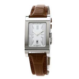 BVLGARI【ブルガリ】 RT45SLD 7919 腕時計 ステンレススチール/革/革 メンズ