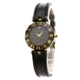 CENTURY【センチュリー】 腕時計 ステンレススチール/革/革 レディース