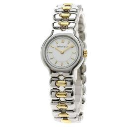 TIFFANY&Co.【ティファニー】 腕時計 ステンレススチール/SSxK18YG/SSxK18YG レディース