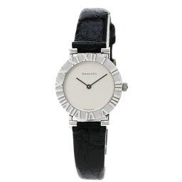 TIFFANY&Co.【ティファニー】 腕時計 シルバー/革/革 レディース