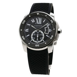 CARTIER【カルティエ】 腕時計 ステンレススチール/ラバー/ラバー メンズ