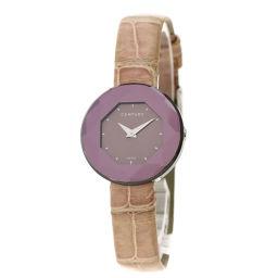 CENTURY【センチュリー】 7604 腕時計 ステンレススチール/革/革 レディース
