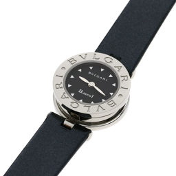 BVLGARI【ブルガリ】 BZ22BSL 腕時計 ステンレススチール/パテントレザー/パテントレザー レディース