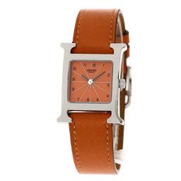 HERMES【エルメス】 HH1.210.830 7949 腕時計 ステンレススチール/革/革 レディース