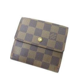 LOUIS VUITTON【ルイ・ヴィトン】 N61652 二つ折り財布(小銭入れあり) ダミエキャンバス ユニセックス