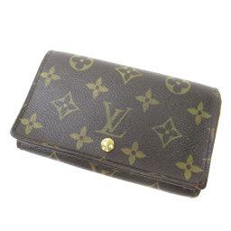 LOUIS VUITTON【ルイ・ヴィトン】 M61736 二つ折り財布(小銭入れあり) モノグラムキャンバス ユニセックス