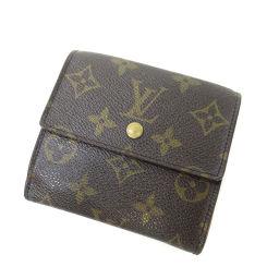LOUIS VUITTON【ルイ・ヴィトン】 M61652 二つ折り財布(小銭入れあり) モノグラムキャンバス ユニセックス