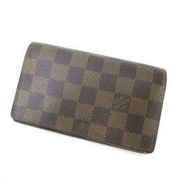 LOUIS VUITTON【ルイ・ヴィトン】 N61736 二つ折り財布(小銭入れあり) ダミエキャンバス ユニセックス