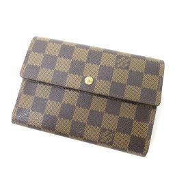 LOUIS VUITTON【ルイ・ヴィトン】 N61202 二つ折り財布(小銭入れあり) ダミエキャンバス ユニセックス