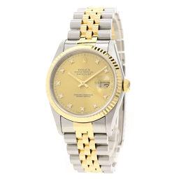 ROLEX【ロレックス】 16233G 腕時計 ステンレススチール/SSxK18YGK18YG メンズ