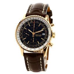 BREITLING【ブライトリング】 R132B46WBA 腕時計 K18ピンクゴールド/革/革 メンズ