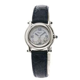 Chopard【ショパール】 27/8245-23 腕時計 ステンレススチール/革/革 レディース