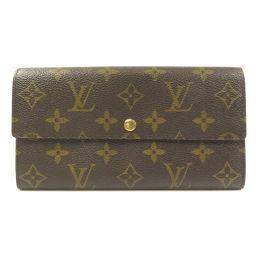 LOUIS VUITTON【ルイ・ヴィトン】 M61725 長財布(小銭入れあり) モノグラムキャンバス レディース