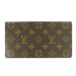 LOUIS VUITTON【ルイ・ヴィトン】 長財布(小銭入れなし) モノグラムキャンバス レディース