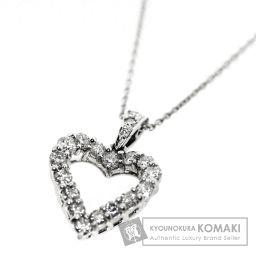 GRAFF【グラフ】 ハートダイヤ ネックレス K18ホワイトゴールド レディース