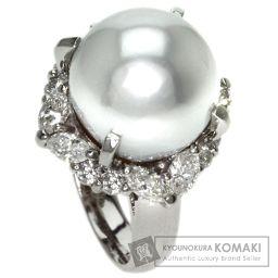 SELECT JEWELRY【セレクトジュエリー】 真珠/ダイヤモンド リング・指輪 プラチナPT900 レディース