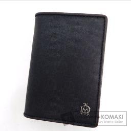 Dunhill【ダンヒル】 ロゴマーク柄 カードケース PVC メンズ