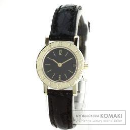 BVLGARI【ブルガリ】 ブルガリブルガリ 腕時計 K18イエローゴールド/アリゲーター/アリゲーター レディース