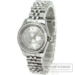 ROLEX【ロレックス】 ダイヤモンド 腕時計 K18ホワイトゴールド/SS/SS レディース