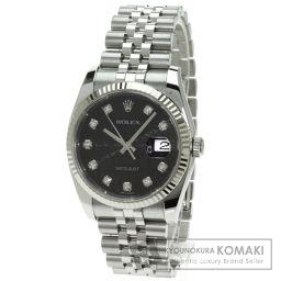 ROLEX【ロレックス】 デイトジャスト 腕時計 K18ホワイトゴールド/SS/SS メンズ