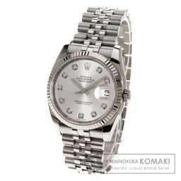 ROLEX【ロレックス】 デイトジャスト 腕時計 ステンレススチール/SS/SS メンズ