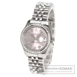 ROLEX【ロレックス】 ダイヤモンド デイトジャスト 腕時計 K18ホワイトゴールド/SS/SS レディース