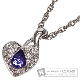 SELECT JEWELRY【セレクトジュエリー】 サファイヤ/ダイヤモンド ネックレス プラチナPT850 レディース