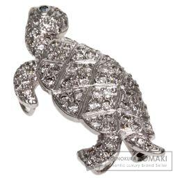 SELECT JEWELRY【セレクトジュエリー】 ダイヤモンド ブローチ K18ホワイトゴールド/K14WG/K14WG レディース