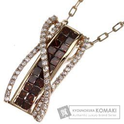 SELECT JEWELRY【セレクトジュエリー】 ダイヤモンド ネックレス K18ピンクゴールド レディース