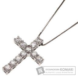 SELECT JEWELRY【セレクトジュエリー】 ダイヤモンド クロス ネックレス プラチナPT950/PT850/PT850 レディース