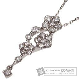 SELECT JEWELRY【セレクトジュエリー】 ダイヤモンド ネックレス K18ホワイトゴールド レディース
