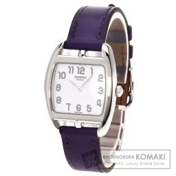 HERMES【エルメス】 ケープコッド 腕時計 ステンレス/革/革 レディース
