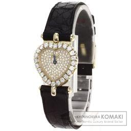 PIAGET【ピアジェ】 トラディション ダイヤモンド 腕時計 K18イエローゴールド/アリゲーター/アリゲーター レディース
