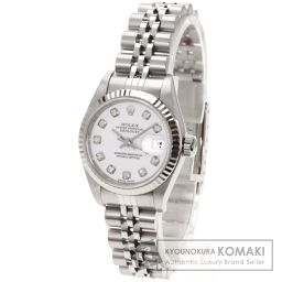 ROLEX【ロレックス】 10Pダイヤモンド デイトジャスト 腕時計 ステンレス/SS/SS レディース