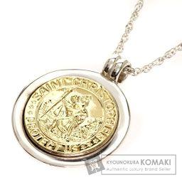 TIFFANY&Co.【ティファニー】 コイン ネックレス シルバー/K18YG/K18YG レディース