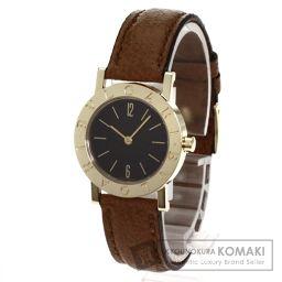 BVLGARI【ブルガリ】 ブルガリブルガリ 腕時計 K18イエローゴールド/レザー/レザー レディース