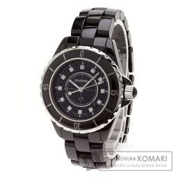 CHANEL【シャネル】 J12 腕時計 ステンレス/ダイヤモンド/ダイヤモンド レディース