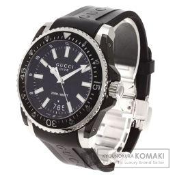 GUCCI【グッチ】 YA136204 腕時計 ステンレス/ラバー/ラバー メンズ