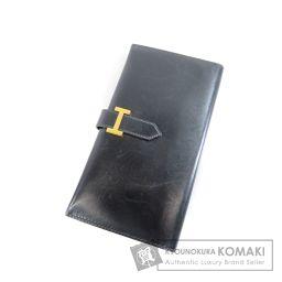 HERMES【エルメス】 ベアン 長財布(小銭入れあり) ボックスカーフ レディース